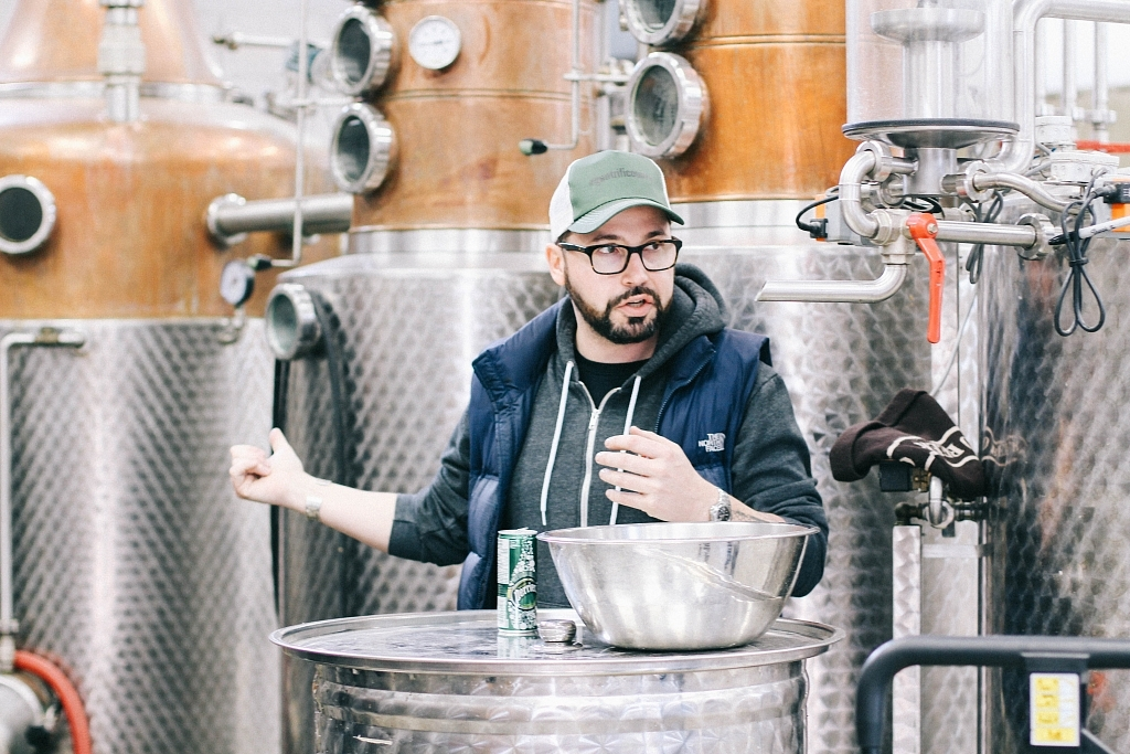 Jeremiah of 66 Gilead Distillery (Kindred)