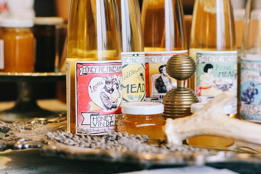 Mead from Honey Pie Hives & Herbals